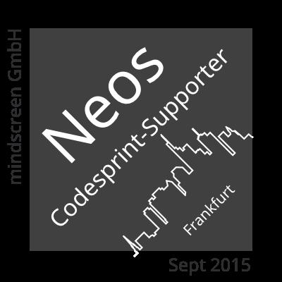 mindscreen Neos Codesprint-Supporter
