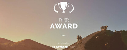 TYPO3 Award, Amsterdam, 21 Ovtober 2015